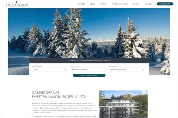 Nouveau site internet Cabinet Graillat